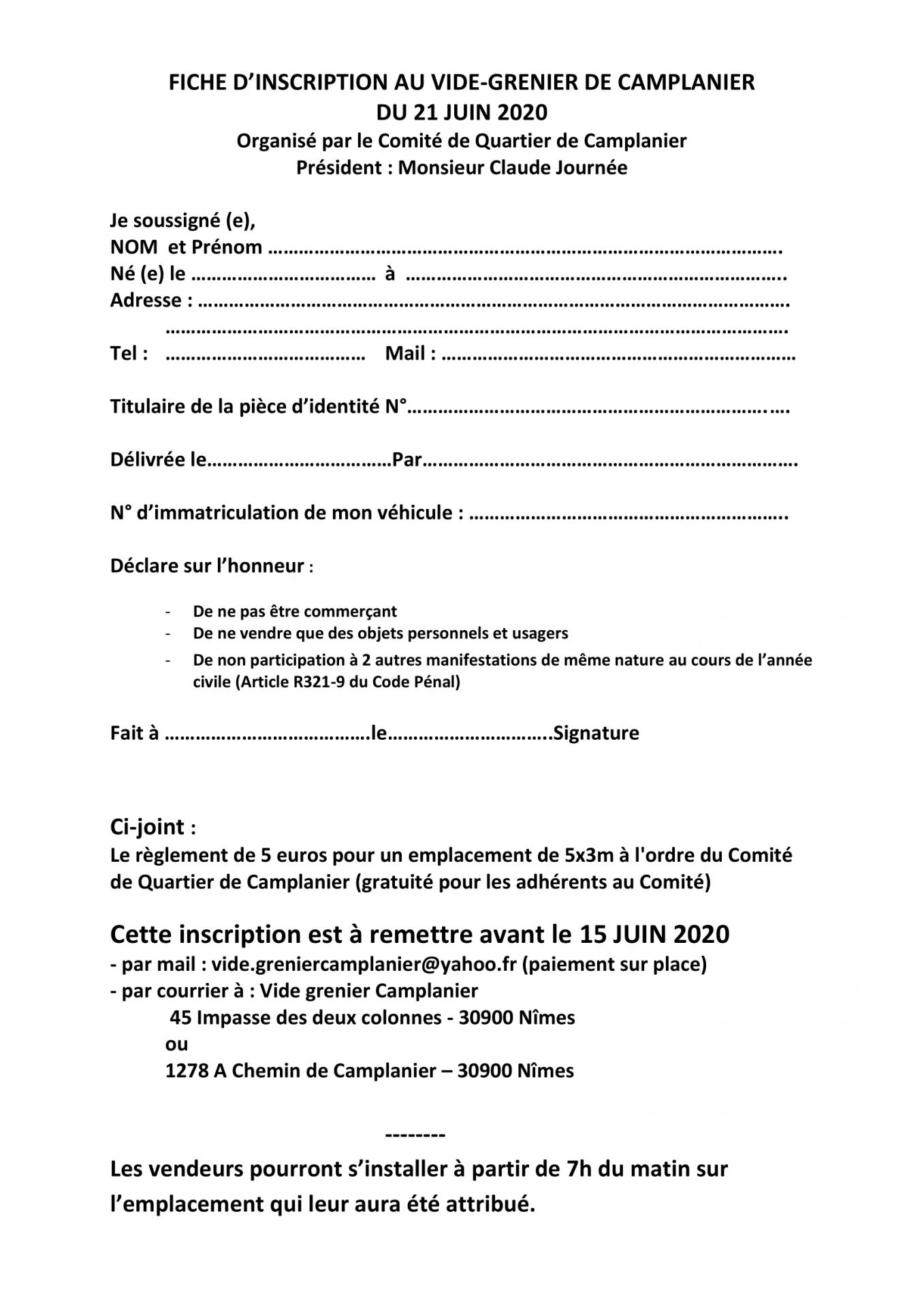 Fiche inscription 2020 1